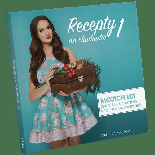 Recepty na chudnutie 1 - fotografia knihy