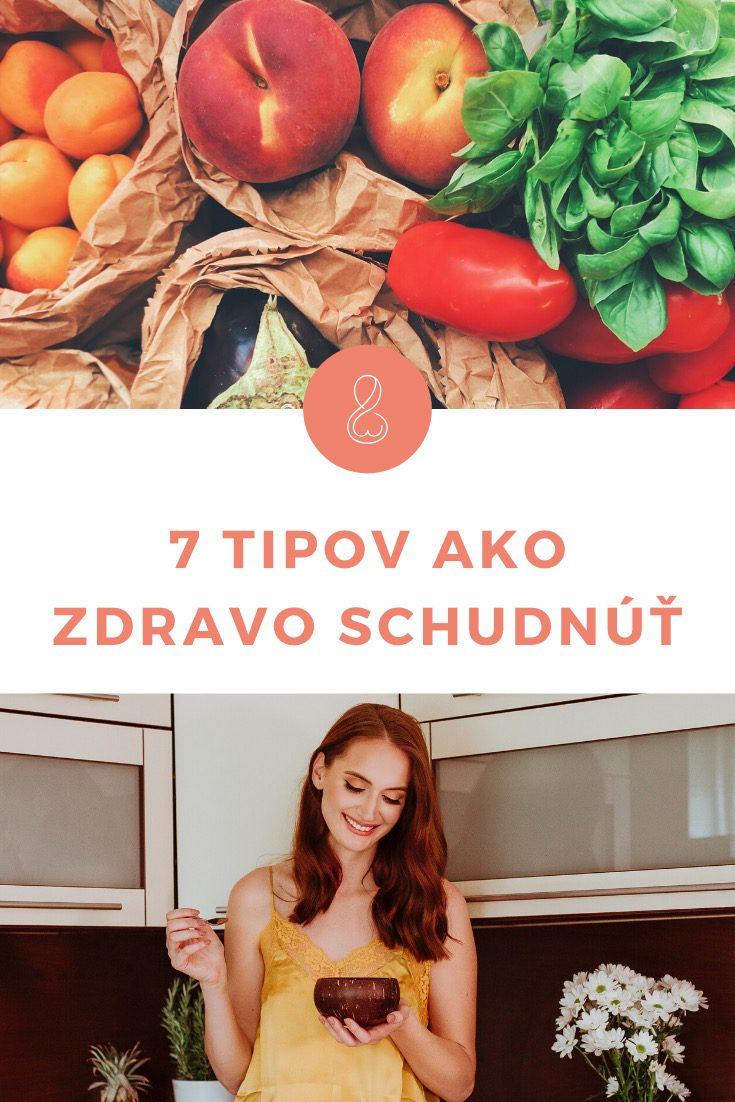 7 tipov ako zdravo schudnúť