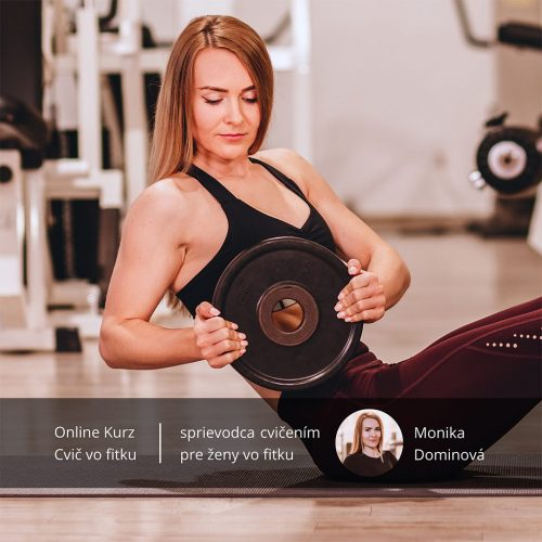 Online kurz cvič vo fitku