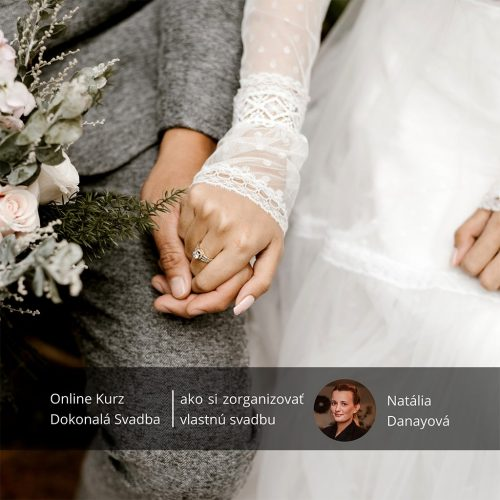 Online kurz dokonalá svadba