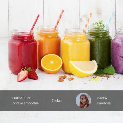 Online kurz zdravé smoothie